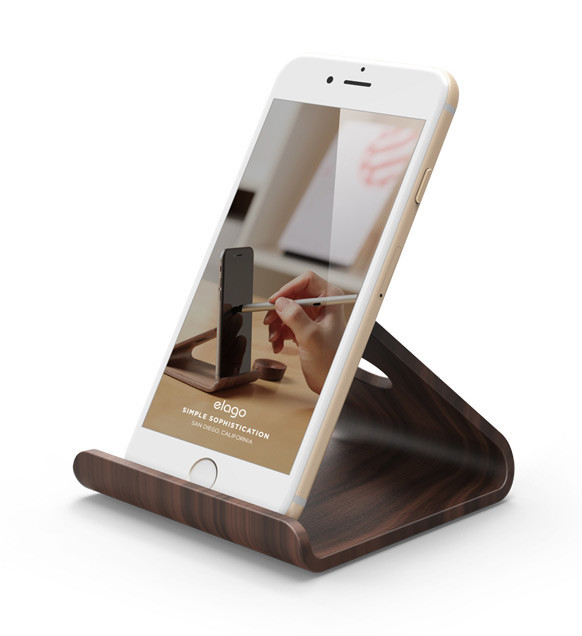 Elago Wood Stand for iPhone and iPad