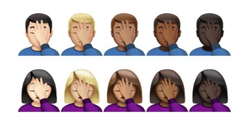 Apple's iOS 10.2 Contains a Number of New Emoji Including Face Palm, Fingers Crossed