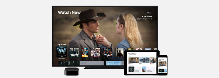 The TV app will also be part of the fourth-generation Apple TV.