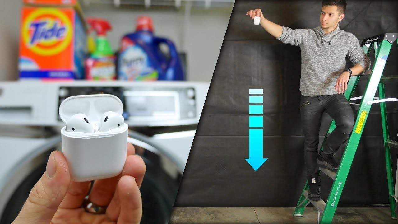 AirPods Water Test