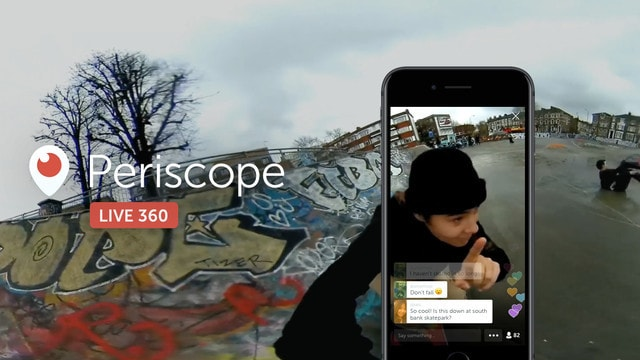 Twitter's Periscope Now Supports Live 360-Degree Videos