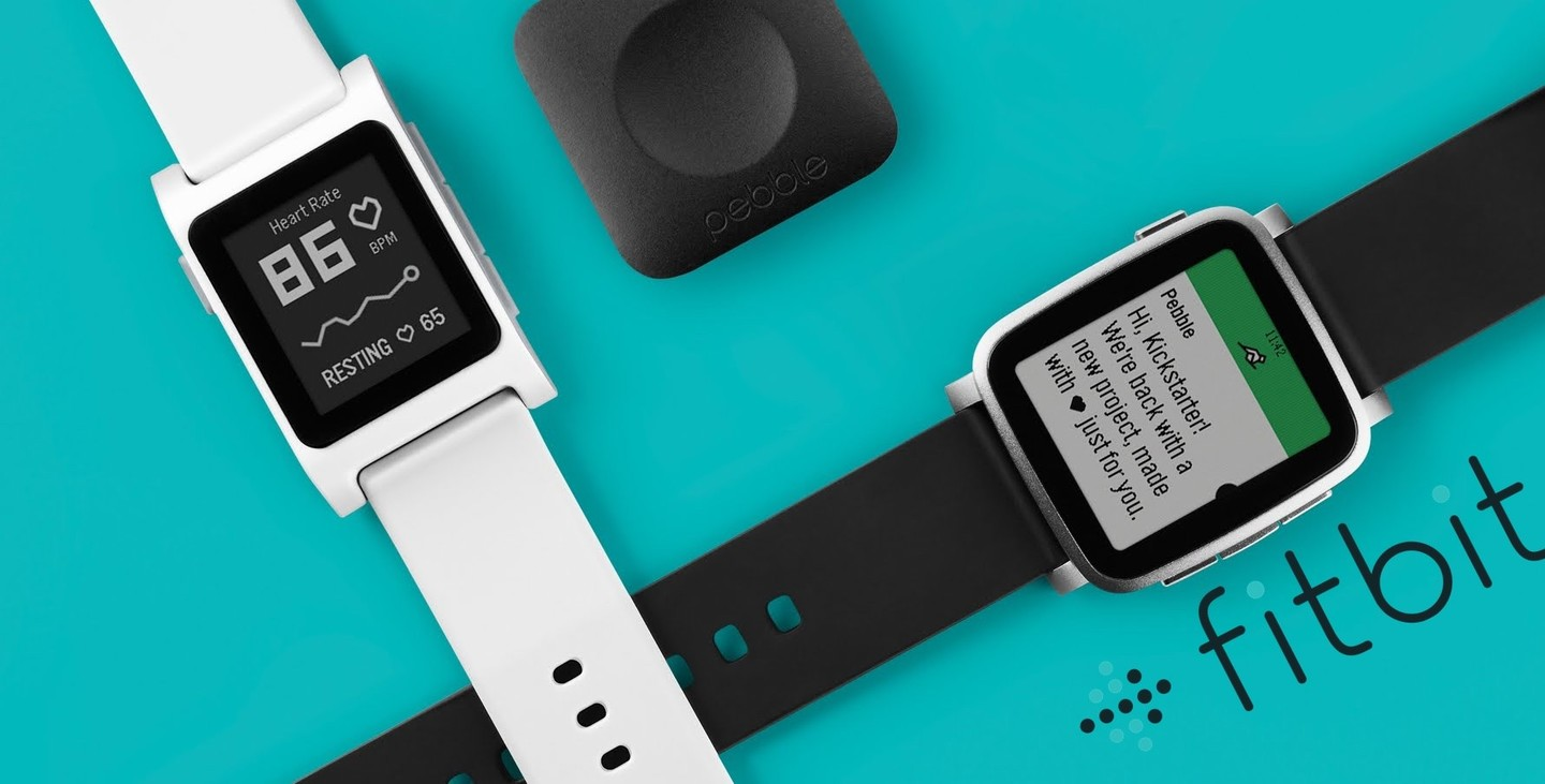 fitbit buying pebble