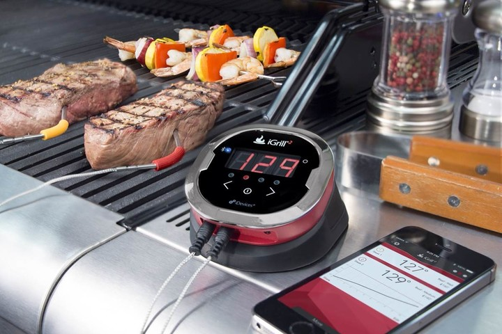 iGrill 2 multiple temperature tracking