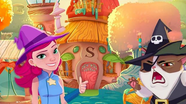 Bubble Witch 3 Saga Casts Its Bubble-Shooting Spell on iOS