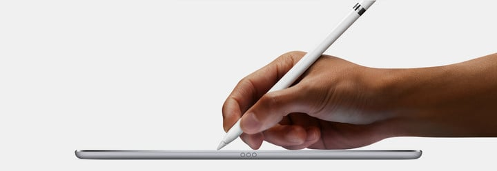 The current generation device works with both iPad Pro models.
