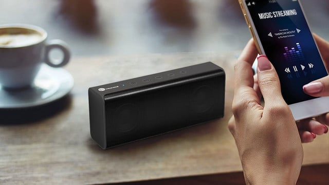 This Popular Ultra-Portable TaoTronics 14W Stereo Speaker is at an All-Time Low