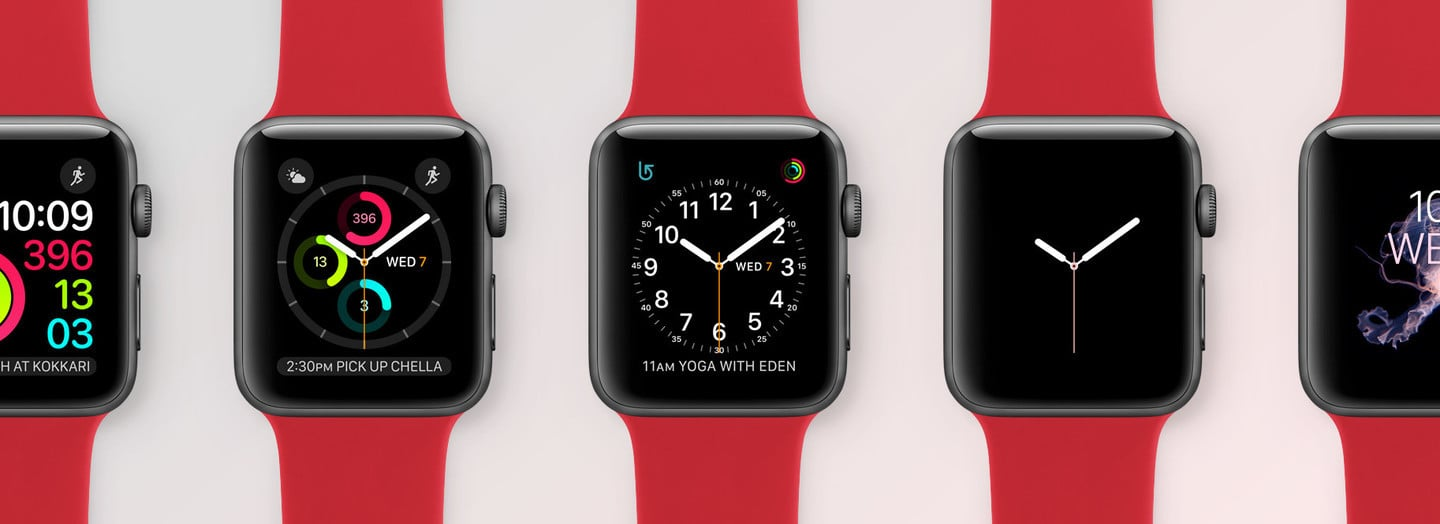 Customizing Apple Watch Faces