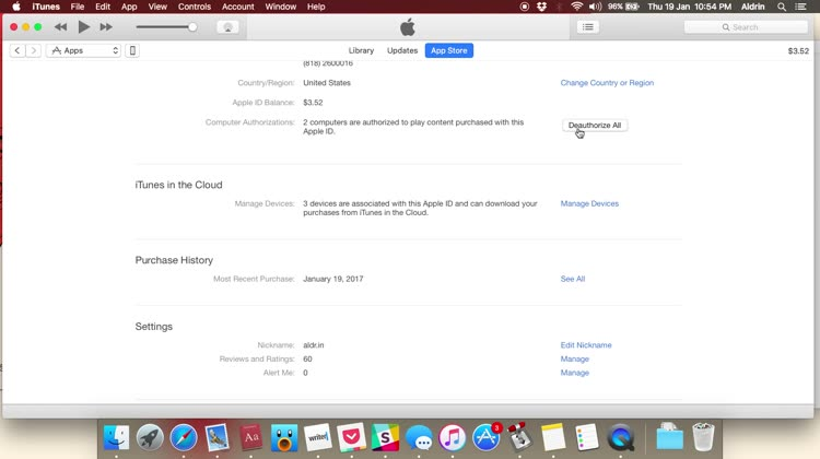 How to disocciate your iPhone from iTunes in the Cloud