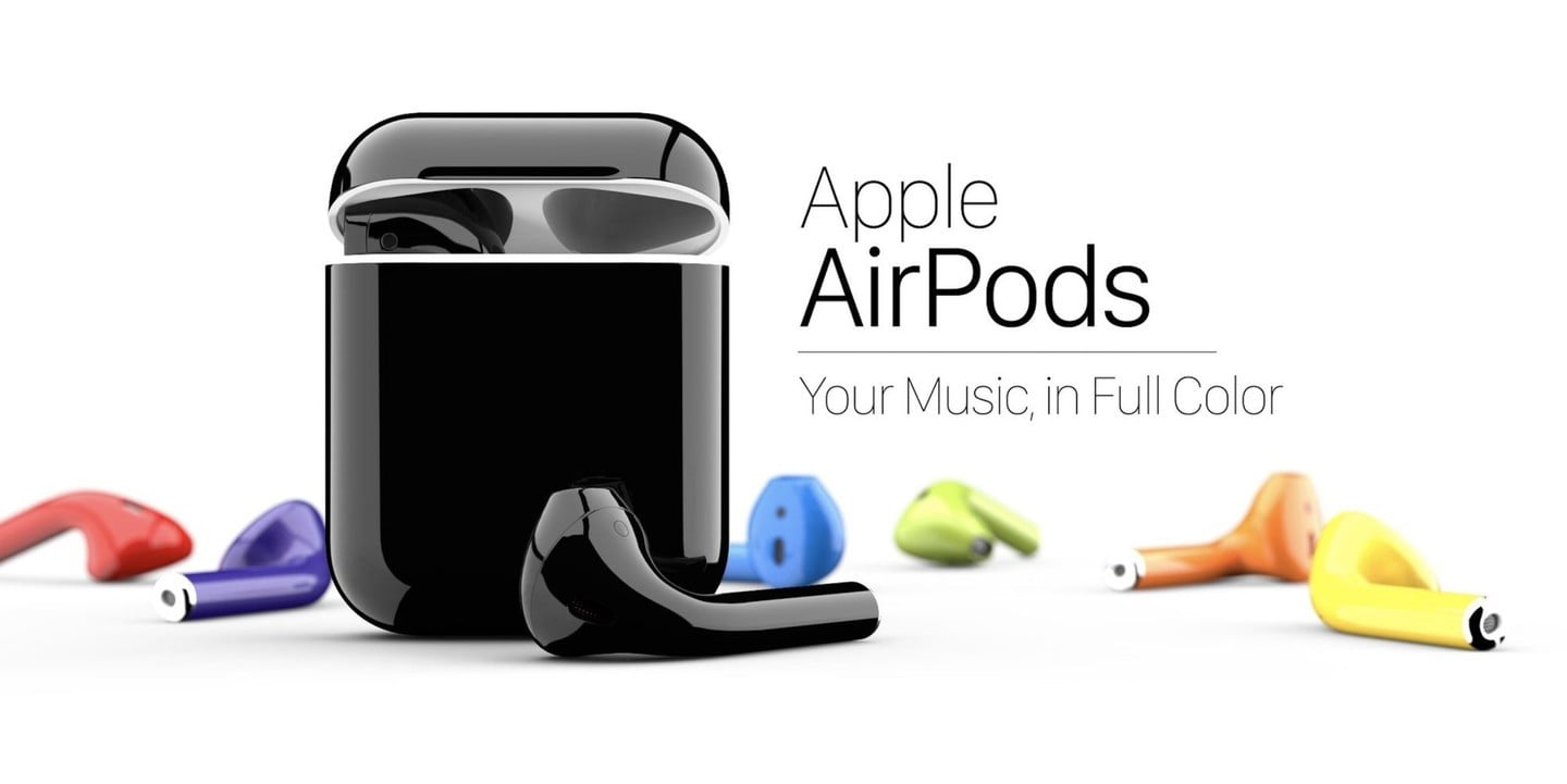 colorized airpods