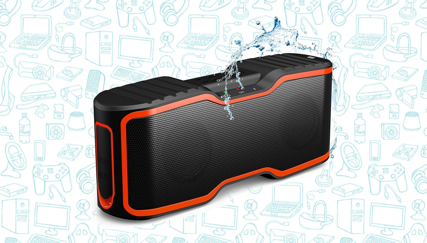 This Best-Selling Waterproof Portable Speaker is Just $33