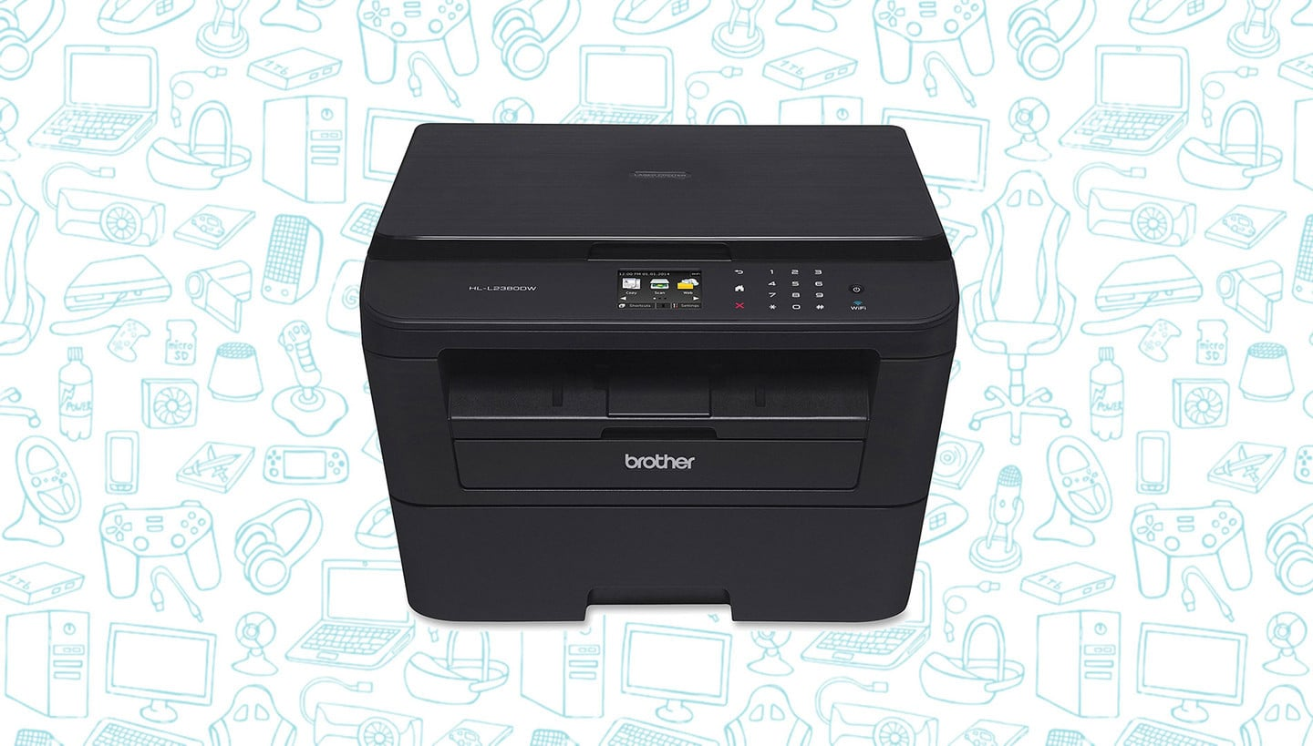 This Brother Monochrome Laser AirPrint Printer with Touchscreen is 32% Off