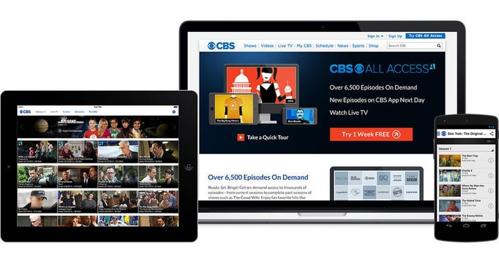 "Along with CBS programming, All Access will soon also offer original series like ""The Good Fight"" and ""Star Trek Discovery."""