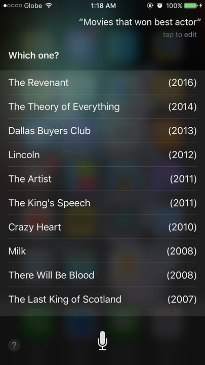 Siri movie Easter eggs best actor