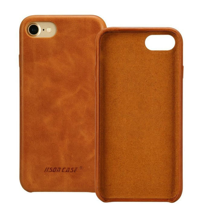 Jisoncase iPhone 7 Leather Case