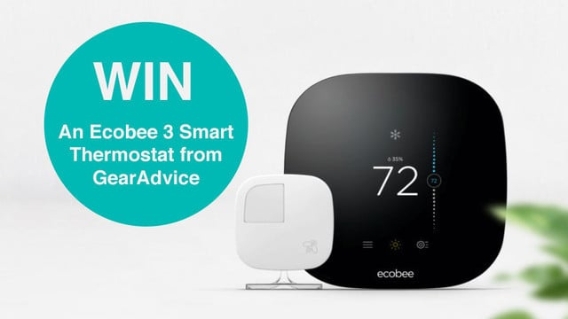 GearAdvice GIVEAWAY #1: Win an Ecobee3 Smart Thermostat