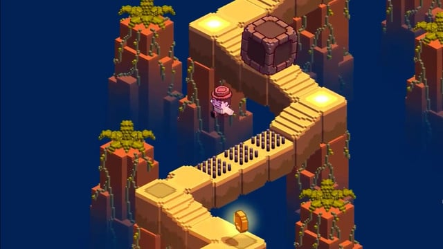Temple Run Meets Crossy Road in New Endless Platformer Cliff Hopper