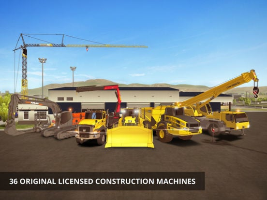 Construction Simulator 2 machines