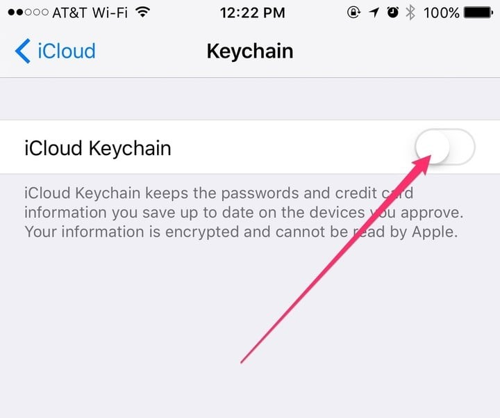 disable-icloud-keychain