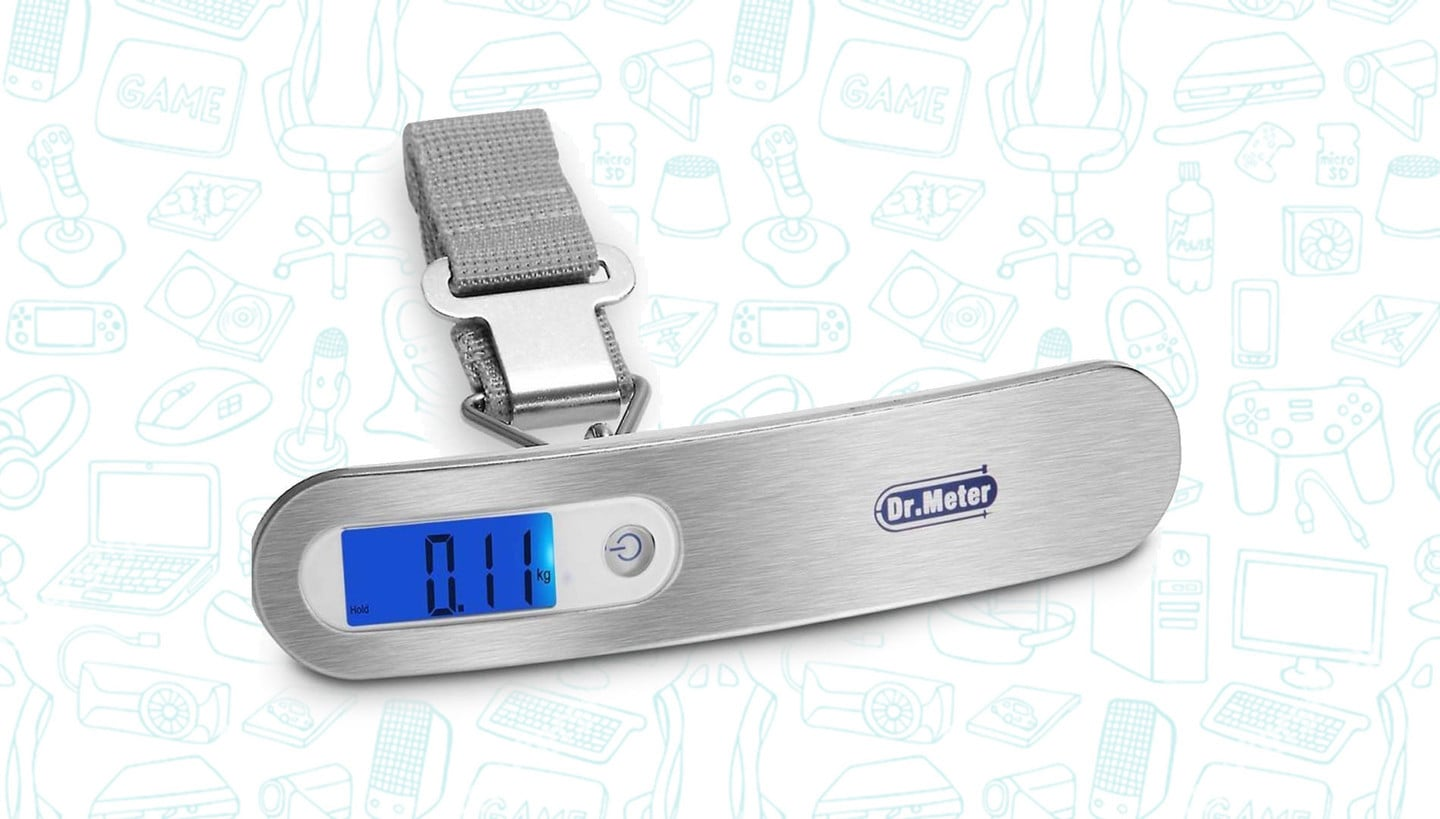 This Portable Digital Luggage Scale is Just $7 Bucks