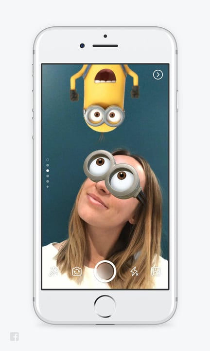 Turn yourself into a Minion as part of your Facebook Story