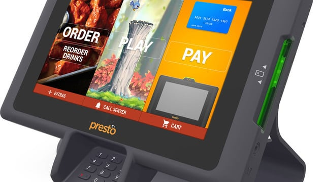 Apple Pay Support Added to PrestoPrime EMV Restaurant Table Terminal