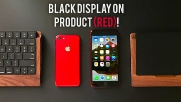 Video: Here's What a Red iPhone with a Black Front Looks Like