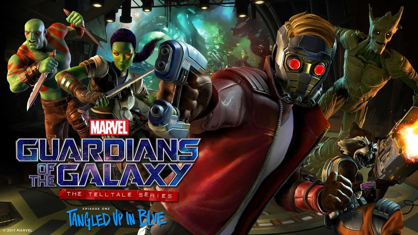 Telltale's Guardians of the Galaxy game release