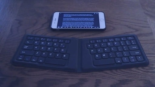 Want an Ultra Compact Foldable Keyboard? Give This One a try for Just $24