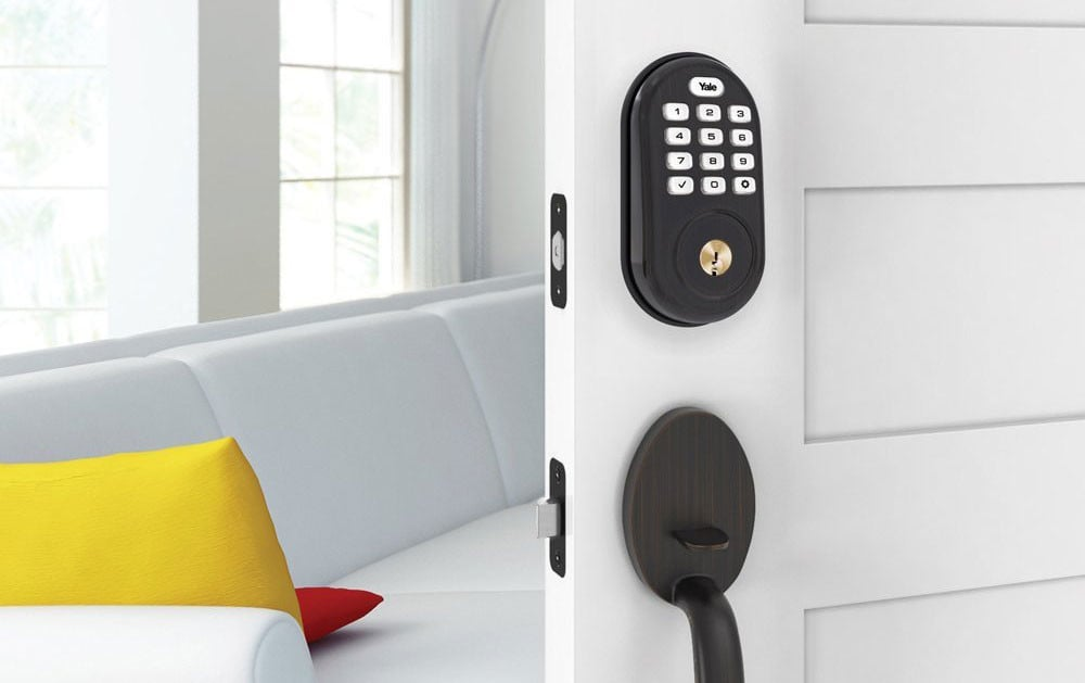 Grab This Yale Push Button Smart Lock For Just $85