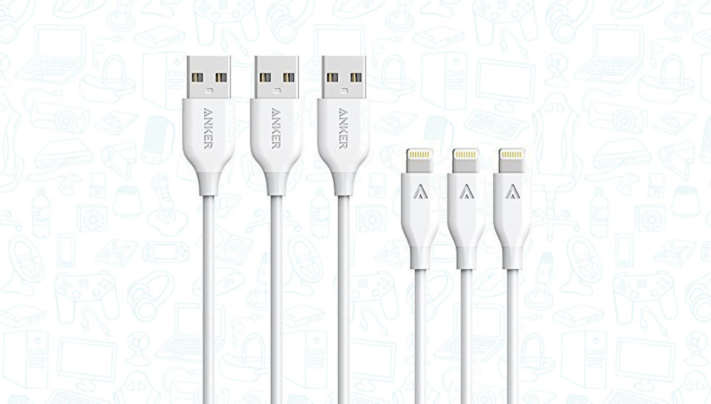Get a 3-Pack of Anker Powerline Lightning Cables for Just $20