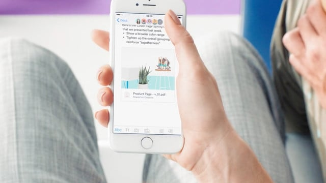 Dropbox Paper for iOS Now Lets You Work on Your Documents Offline