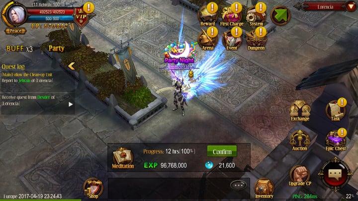 MU Origin update event dungeon