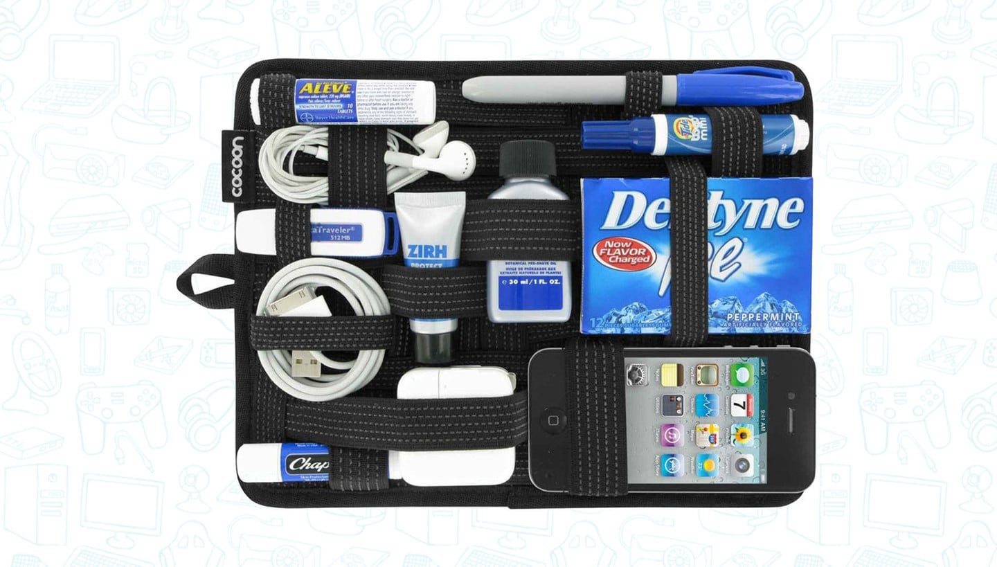 Keep Your Wires and Accessories Organized for under $8