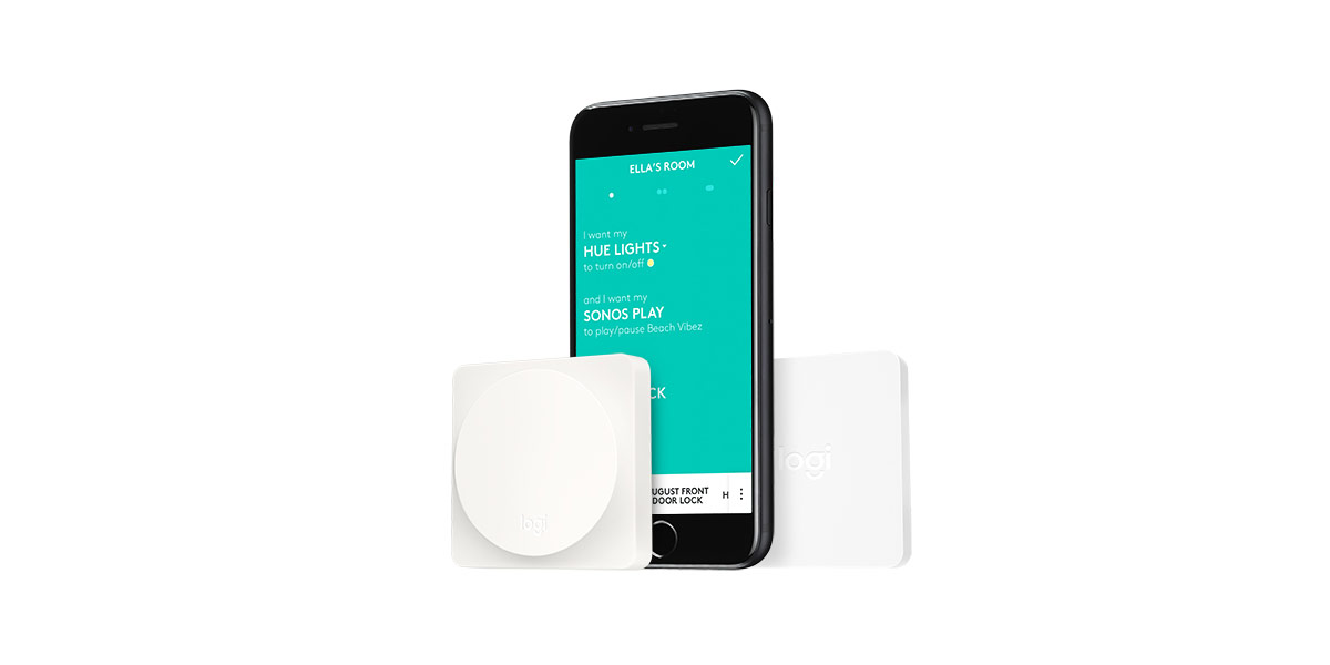Logitech's New POP Smart Button Brings One-Touch Control to Apple HomeKit Devices