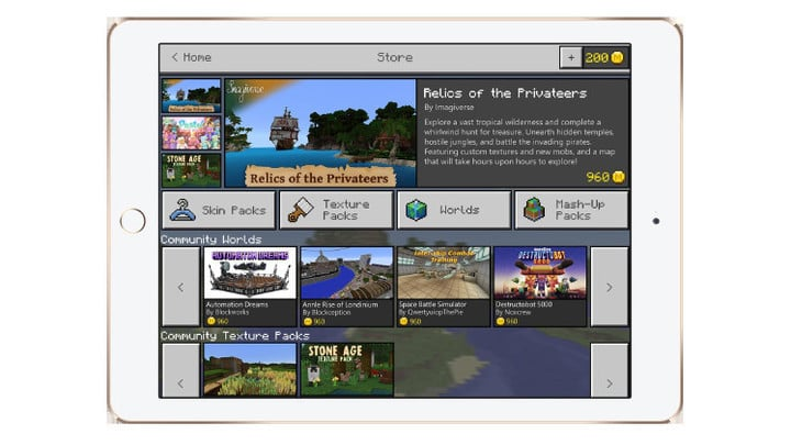 After the Apple takes its 30 percent cut, developer Mojang said the creators will receive most of the profits from their work.
