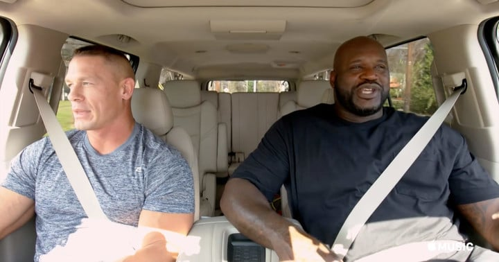 Episodes will pair together unique celebrities like Shaq and John Cena.