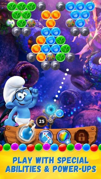 Smurfs Bubble Story 3