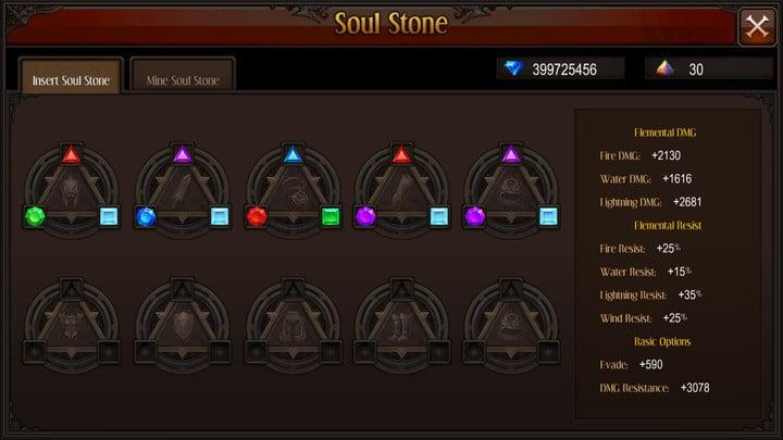 MU Origin update Soul Stone