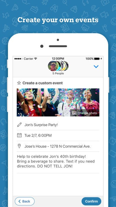Who's In social event planning app for iMessage 3