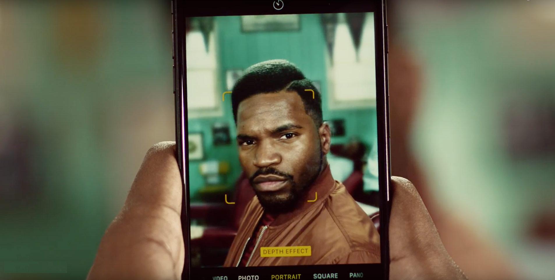 The Latest Apple Ad Again Focuses on the iPhone 7 Plus Portrait Mode