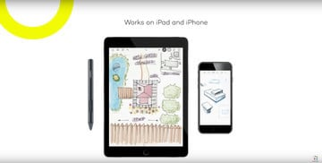 The Bamboo Sketch from Wacom is a Pressure Sensitive Stylus for an iPhone, iPad