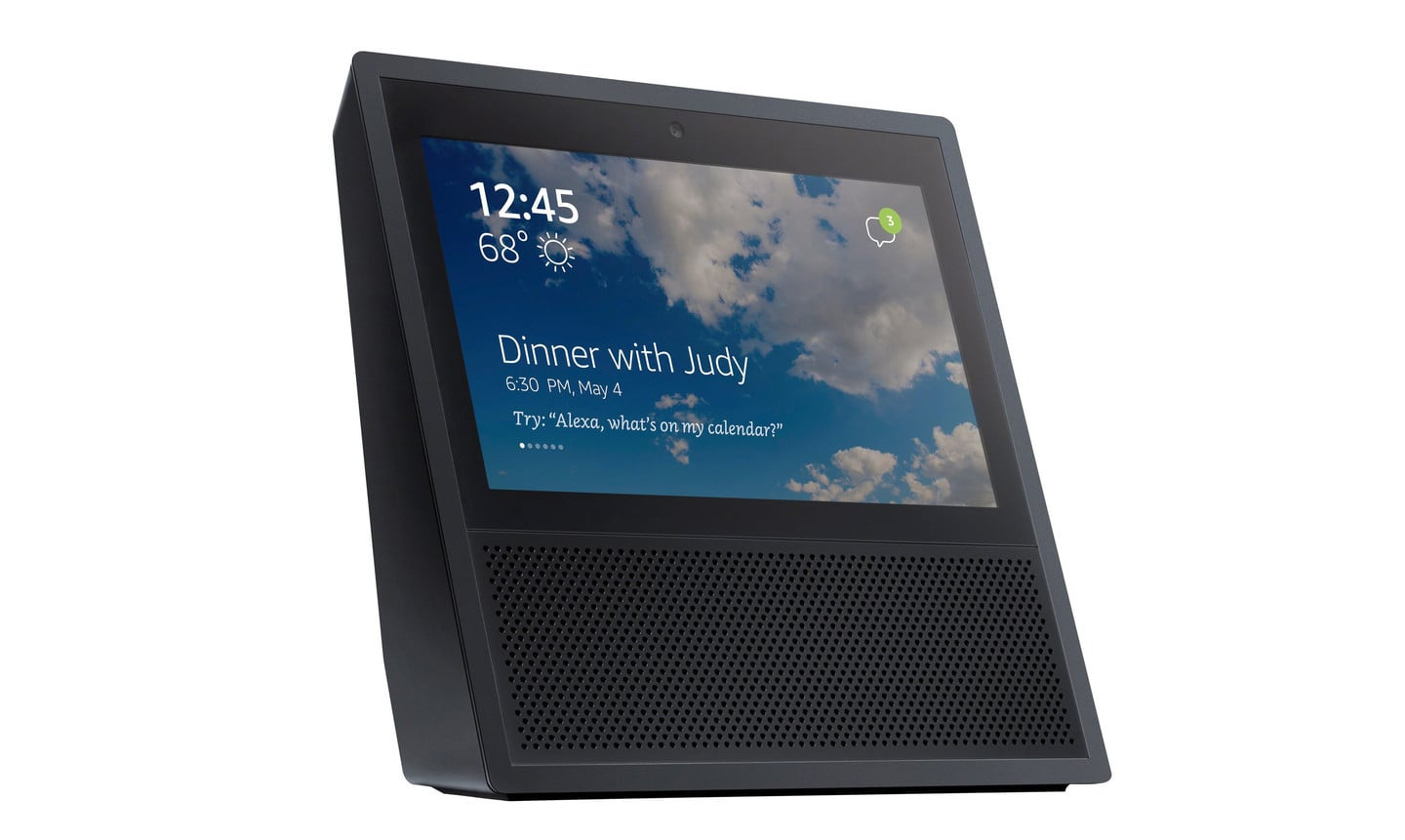 Amazon's New Touchscreen Echo