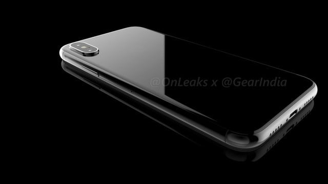 New iPhone 8 Renders Show a Vertical Dual Lens Camera, No Rear Touch ID