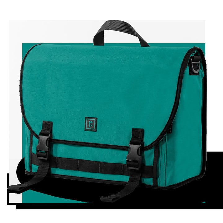 - cordura commuter flipped peacock 32786122018297274a8cbf9936b88516 m - The Best Laptop Bags for Your MacBook