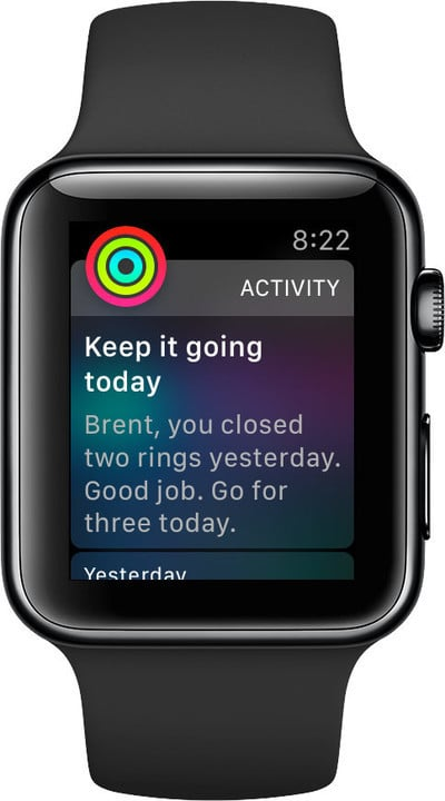 Personalized notification should help make your fitness routine even better.