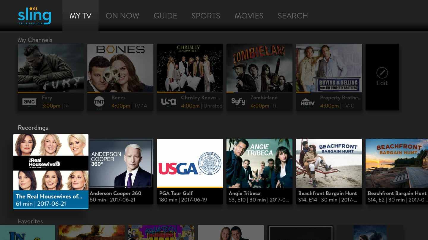 Sling TV's Cloud DVR Does Windows 10, Reaches AirTV, iOS Devices