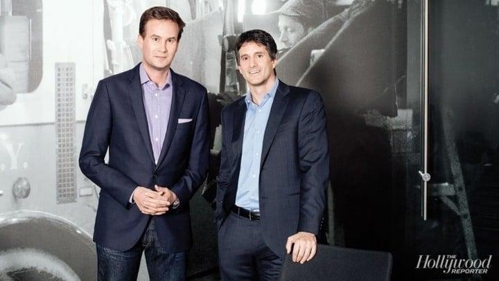 Zack Van Amburg (left) and Jamie Erlicht