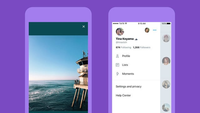 Twitter's Redesigned iOS App Features a Safari Viewer, Side Navigation Bar and More
