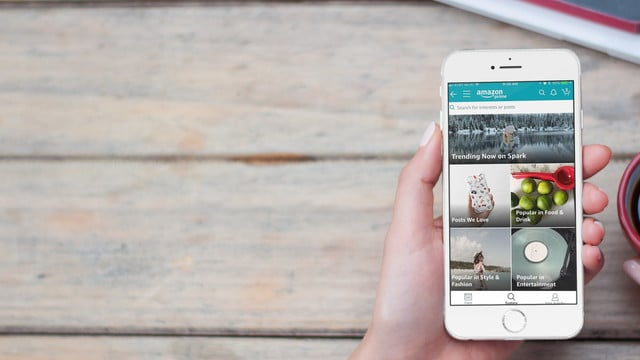Amazon Spark Brings Instagram-Like Feature to Shopping App