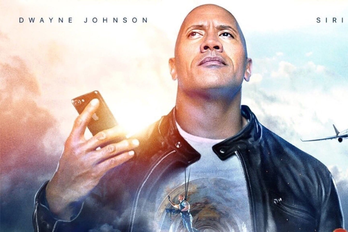 The Rock and Apple announce a movie co